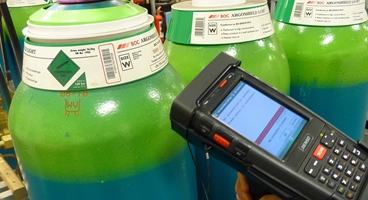 BOC Gas Cylinder Tracking