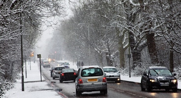 Used for the BOC blog - 10 top tips for winter driving.